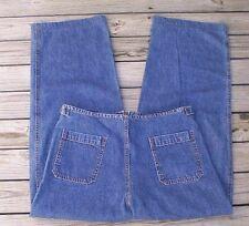 Womens Jeans Size M - Big Blue Adjustable Waist