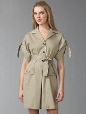 New ELIE TAHARI Safari Shirt Dress Retail $398