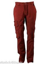 Eleven Paris Homme Pantalon Cargo Betterave (EPJN006a)