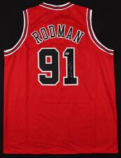 Dennis Rodman Signed Chicago Bulls Jersey (Beckett COA) NBA