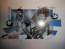 BLOC FEUILLET - TIMBRES ARGENTINE DE 1999.