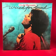 CLIFF RICHARD Wired For Sound 1981 UK Vinyl LP + INNER EXCELLENT CONDITION B