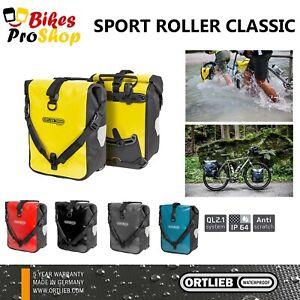 ORTLIEB Sport Roller CLASSIC (Pair) - Bike Panniers Bags WATERPROOF GERMANY 2021