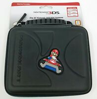 Nintendo 2DS/3DS Game Traveler Case - Mario Kart  Blue 3DS205MK_Black New