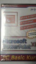Microsoft PowerPoint XP Profiwissen für Einsteiger eingeschweisst NEU Basis Kurs