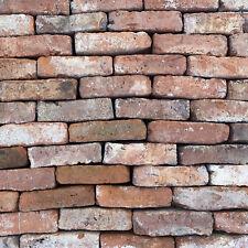 "Reclaimed Tudor 2 1/2"" Handmade Imperial Bricks - 50,000+ Cleaned And Ready"