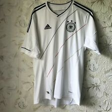 Germany Home football shirt 2012 - 2013 Adidas Soccer Jersey Size L
