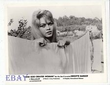 Brigitte Bardot sexy And God Created Woman VINTAGE Photo