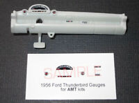 1956 FORD THUNDERBIRD GAUGE FACES for 1/25 scale AMT KITS