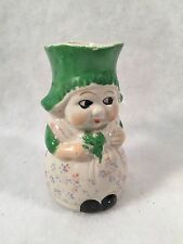 Japan Pottery Hand Painted Dutch Girl Creamer