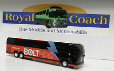 """INVENTORY REDUCTION -  Bolt Diecast Prevost X-3-45 8-1/2"""" Bus  1:64 Scale"""