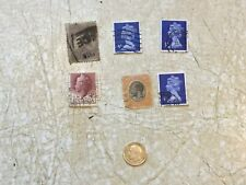 SILVER WW1 1918 UK 3 PENCE Coin STAMP RARE 20C revenue TANGANYIKA  Australia 9D