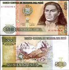 PERU 500 INTIS 1987 P 134 UNC