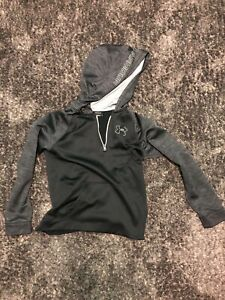 Under Armour Black/grey Sweatshirt Youth Large