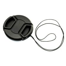 KOOD 37mm CENTRE PINCH GRIP STYLE LENS CAP COVER for 37mm + CORD (UK Stock) NEW