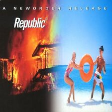 NEW ORDER REPUBLIC NEW SEALED 180G VINYL LP & MP3 REISSUE IN STOCK