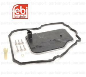 Transmission Filter + Gasket + Pan Bolts + Drain Plug Seal Kit for Mercedes Benz