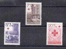 Finlandia Cruz Roja serie del año 1951 (CK-699)