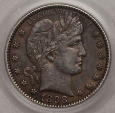 1898-O Barber 25c PCGS XF 45 Deep Orange Hues quarter...Arbor Coin free shipping