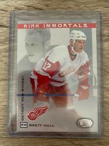 2003-04 Pacific Head Up Rink Immortals Hobby LTD Brett Hull 017/175 #5