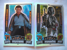 Star Wars Movie Card Serie 3. Limitierte Karte LE 4 (LANDO) + LE 11 (BODA FETT).