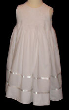 First Communion Dress - Hand Smocked - Varina - Size 7