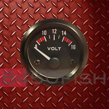 """2"""" Volt Meter Gauge - Hi-Visibility - Analog for Car, Boat ,Truck, ATV, etc."""
