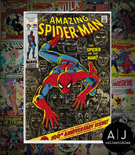 The Amazing Spider-Man #100 (W Marvel M) FN - VF! HIGH RES SCANS!