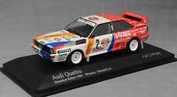 Minichamps Audi Quattro A1 Hunsrück Rally Win 1984 Demuth & Lux 430841991 1/43