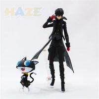 """Figma 363 Persona 5 Shujinkou&Morgana Joker Action 6"""" Figure Toy In Box Model"""