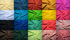 Bullet Double Knit Stretch Fabric 89 Colors Polyester Lycra Spandex BTY