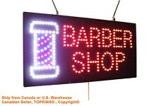 Barber Shop Sign Haircut Salon Beauty Hairdresser neon led window business sign