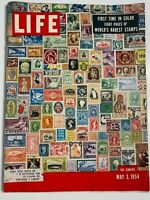 Life Magazine May 3 1954 Rarest Stamps Feature Article