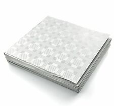 50 x Disposable White Paper Table Cloths Covers Wedding Party Catering Events