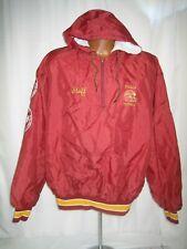 vintage 70s 80s ithaca football staff pullover windbreaker adult XXL ncaa vtg