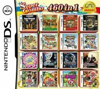 460 in 1 ds Game Card Harvest Moon, Kirby, and many others!!!