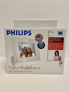 Philips Digital Photo Frame (White). New Factory Sealed