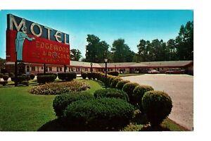 Postcard Motel Edgewood MD Beauty Rest Box Springs