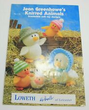 Jean Greenhowe's Knitted Animals Toy Knitting Patterns