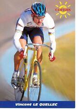 CYCLISME carte cycliste VINCENT LE QUELLEC équipe COFIDIS 1999