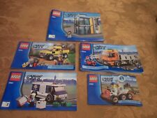 4 LEGO CITY BROCHURES # 3661 LARGE,3661 SHORT ,3365 & 4434.VG CONDITION CHEAP