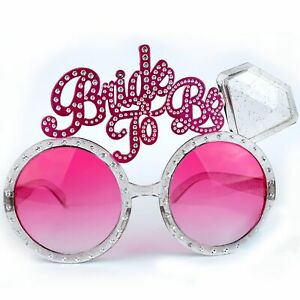 Bride To Be Glasses Bridal Shower Hens Night Party Wedding Accessories Supplies