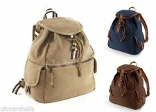 Canvas Expandable Backpack Bags for Men