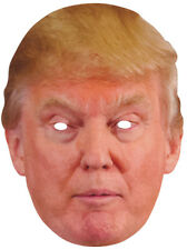 NEW CARDBOARD TRUMP MASK Party Supplies