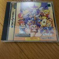 POCKET FIGHTER Sega Saturn SS CAPCOM Japan Video Games