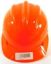 Bullard S61 Orange Hard Hat 4 Point Ratchet Suspension 1 2 8 52 64 Cm