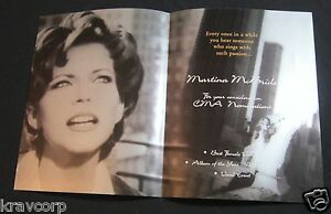 MARTINA MCBRIDE—1996 PROMOTIONAL BOOKLET