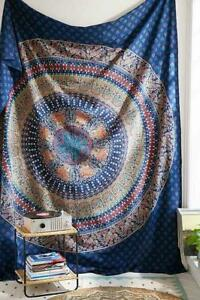 Mandala Wall Hanging Bohemian Hippie Tapestry Indian Ethnic Cotton Beach Throw