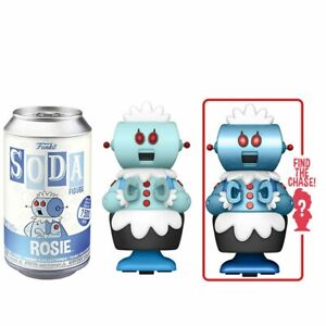 IN STOCK: Vinyl SODA: The Jetsons – Rosie w 1 in 6 Chance at Chase! (BUY 6 FOR G