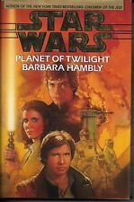STAR WARS - PLANET OF TWILIGHT by Barbara Hambly  rare hardcover book